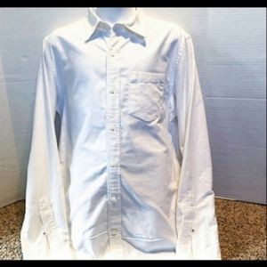 5 for $25 White Button Up Dress Shirt Old Navy